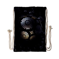Fractal Sphere Steel 3d Structures  Drawstring Bag (Small)