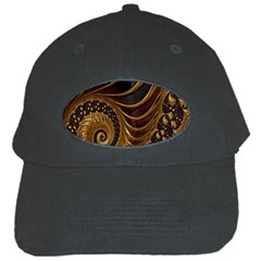Fractal Spiral Endless Mathematics Black Cap