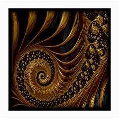 Fractal Spiral Endless Mathematics Medium Glasses Cloth (2-Side)