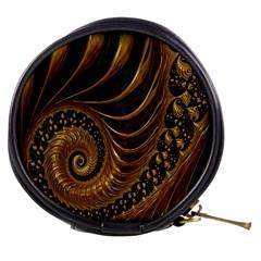 Fractal Spiral Endless Mathematics Mini Makeup Bags