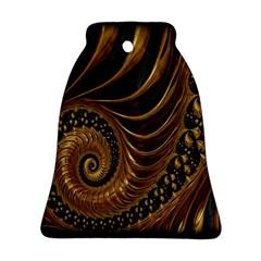 Fractal Spiral Endless Mathematics Ornament (Bell)