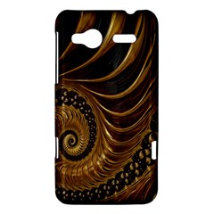 Fractal Spiral Endless Mathematics HTC Radar Hardshell Case