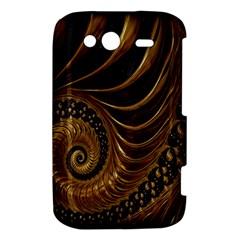 Fractal Spiral Endless Mathematics HTC Wildfire S A510e Hardshell Case