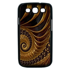Fractal Spiral Endless Mathematics Samsung Galaxy S III Case (Black)