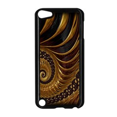 Fractal Spiral Endless Mathematics Apple iPod Touch 5 Case (Black)