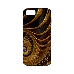 Fractal Spiral Endless Mathematics Apple iPhone 5 Classic Hardshell Case (PC+Silicone)