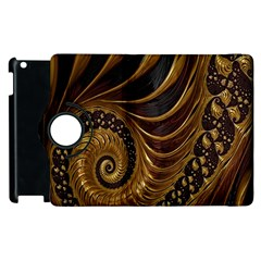 Fractal Spiral Endless Mathematics Apple iPad 3/4 Flip 360 Case