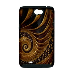 Fractal Spiral Endless Mathematics Samsung Galaxy Note 2 Hardshell Case (PC+Silicone)