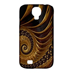 Fractal Spiral Endless Mathematics Samsung Galaxy S4 Classic Hardshell Case (PC+Silicone)