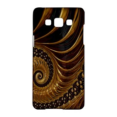 Fractal Spiral Endless Mathematics Samsung Galaxy A5 Hardshell Case
