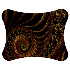 Fractal Spiral Endless Mathematics Jigsaw Puzzle Photo Stand (Bow)
