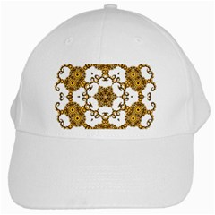 Fractal Tile Construction Design White Cap