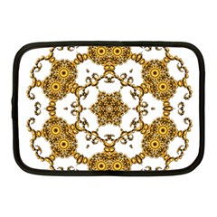 Fractal Tile Construction Design Netbook Case (Medium)