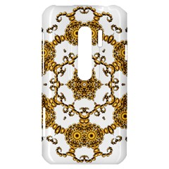 Fractal Tile Construction Design HTC Evo 3D Hardshell Case