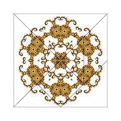 Fractal Tile Construction Design Acrylic Tangram Puzzle (6  x 6 )