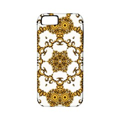 Fractal Tile Construction Design Apple iPhone 5 Classic Hardshell Case (PC+Silicone)