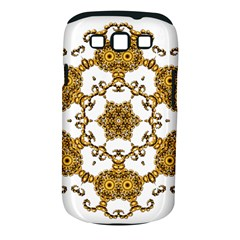 Fractal Tile Construction Design Samsung Galaxy S III Classic Hardshell Case (PC+Silicone)