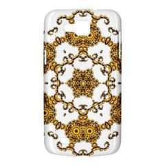 Fractal Tile Construction Design Samsung Galaxy Premier I9260 Hardshell Case