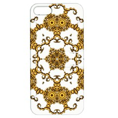 Fractal Tile Construction Design Apple iPhone 5 Hardshell Case with Stand