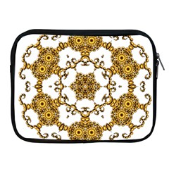 Fractal Tile Construction Design Apple iPad 2/3/4 Zipper Cases