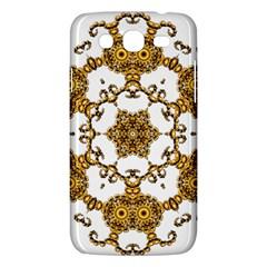 Fractal Tile Construction Design Samsung Galaxy Mega 5.8 I9152 Hardshell Case