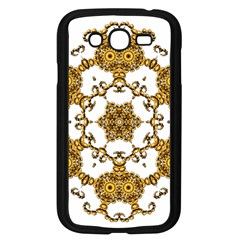 Fractal Tile Construction Design Samsung Galaxy Grand DUOS I9082 Case (Black)