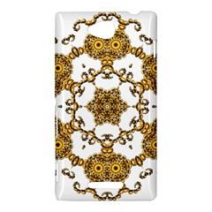 Fractal Tile Construction Design Sony Xperia C (S39H)