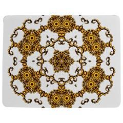 Fractal Tile Construction Design Jigsaw Puzzle Photo Stand (Rectangular)