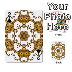 Fractal Tile Construction Design Playing Cards 54 Designs