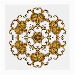 Fractal Tile Construction Design Medium Glasses Cloth (2-Side)