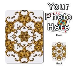 Fractal Tile Construction Design Multi-purpose Cards (Rectangle)