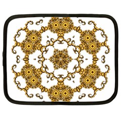 Fractal Tile Construction Design Netbook Case (XL)