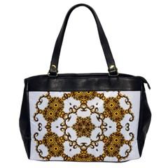 Fractal Tile Construction Design Office Handbags