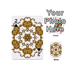 Fractal Tile Construction Design Playing Cards 54 (Mini)
