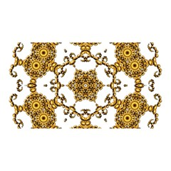 Fractal Tile Construction Design YOU ARE INVITED 3D Greeting Card (8x4)