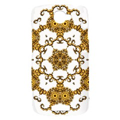 Fractal Tile Construction Design HTC One S Hardshell Case
