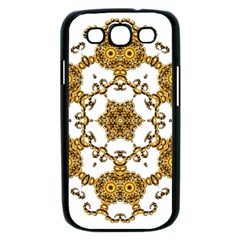 Fractal Tile Construction Design Samsung Galaxy S III Case (Black)