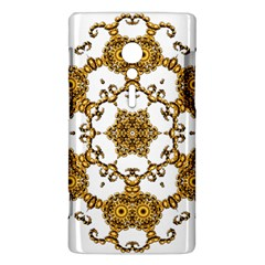 Fractal Tile Construction Design Sony Xperia ion