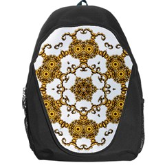 Fractal Tile Construction Design Backpack Bag