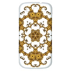 Fractal Tile Construction Design Samsung Galaxy S3 S III Classic Hardshell Back Case