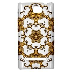 Fractal Tile Construction Design HTC 8S Hardshell Case