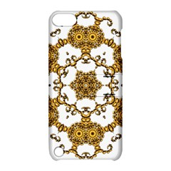 Fractal Tile Construction Design Apple iPod Touch 5 Hardshell Case with Stand