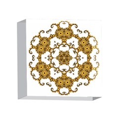 Fractal Tile Construction Design 4 x 4  Acrylic Photo Blocks