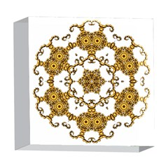 Fractal Tile Construction Design 5  x 5  Acrylic Photo Blocks