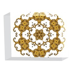 Fractal Tile Construction Design 5 x 7  Acrylic Photo Blocks
