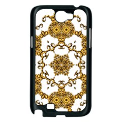 Fractal Tile Construction Design Samsung Galaxy Note 2 Case (Black)