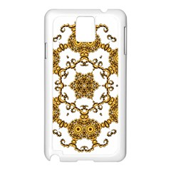 Fractal Tile Construction Design Samsung Galaxy Note 3 N9005 Case (White)
