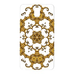 Fractal Tile Construction Design Samsung Galaxy Note 3 N9005 Hardshell Back Case