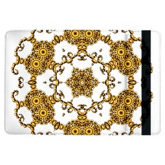 Fractal Tile Construction Design iPad Air Flip