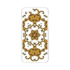 Fractal Tile Construction Design Apple Seamless iPhone 6/6S Case (Transparent)